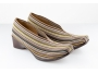 Mocasin Oregon - Beige multistreep