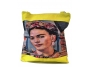Frida Kahlo shopper geel1