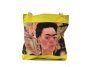 Frida Kahlo shopper geel4