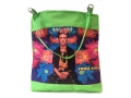 Frida Kahlo shopper groen1